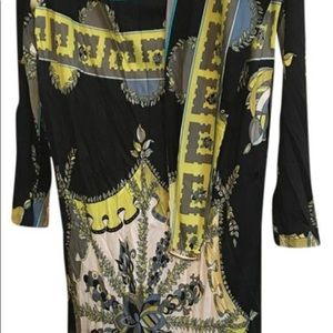 Pucci belted dress